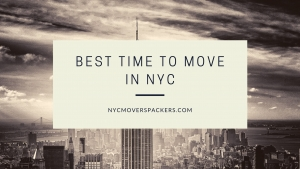 Best time to move in NYC