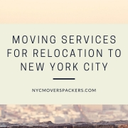 Moving Services for Relocation to New York City