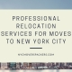 Professional Relocation Services for moves to New York City
