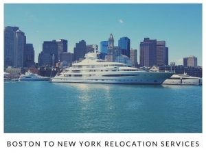 Boston to New York Relocation Services