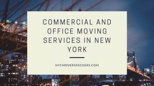 Commercial and Office Moving Services in New York