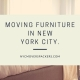 Moving Furniture in New York City
