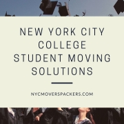 New York City College Student Moving Solutions