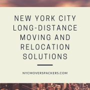 New York City Long-distance Moving and Relocation Solutions