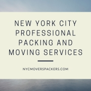 New York City Professional Packing and Moving Services