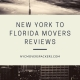 New York to Florida Movers Reviews