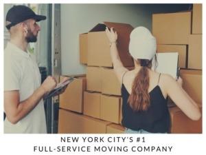 New York City's #1 Full-service Moving Company