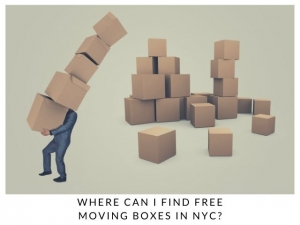 Where can I find FREE Moving Boxes in NYC?